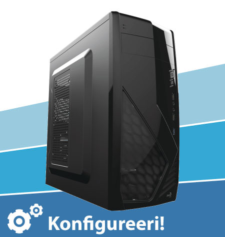 Digikas KS-27-89: Intel Pentium G5400, s1151, H310, 8GB, Intel graafika, SSD 240GB, ATX, 400W, BOX Jahuti, ilma OS